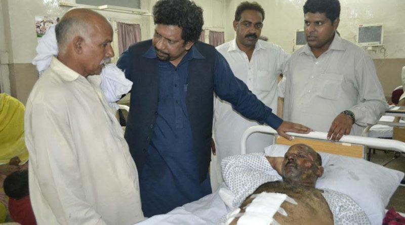 Visit- Church Blast- Peshawar