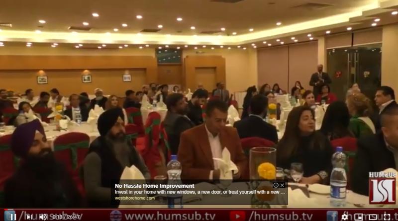 Pakistan Interfaith League (PIL)Hosted Interfaith Christmas Dinner